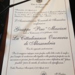 Photo 12 - Pino Masciari è Cittadino onorario di Alessandria